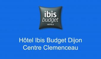 Bloc couleur logo Hotel Ibis Budget centre clemenceau